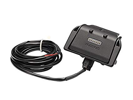 TomTom Replacement Sat Nav Holder with Charger Cable for Rider Europe v4